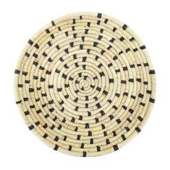 Brödkorg i flätad palm Palm Dot från Afroart