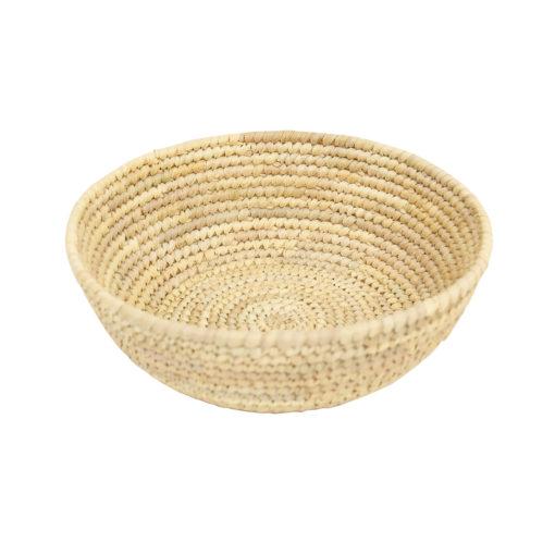 Brödkorg av flätade palmblad Palm från Afroart