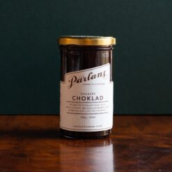 Kolasås med smak av choklad från Pärlans Konfektyr