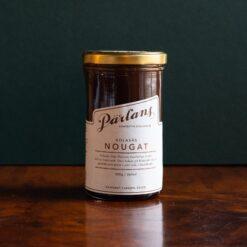 Kolasås med smak av nougat från Pärlans Konfektyr