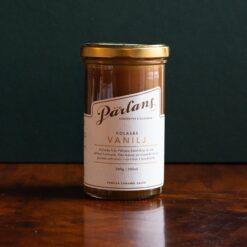 Kolasås med smak av vanilj från Pärlans Konfektyr