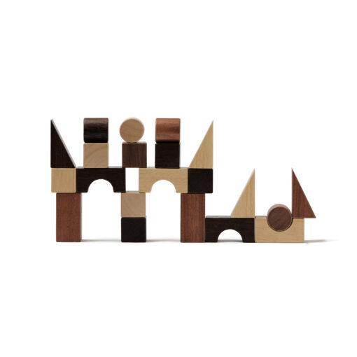 Byggklossar Neo natur i trä från Kids Concept