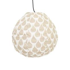 Lampskärm i tyg Meringue Drop XS från Afroart