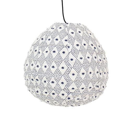 Lampskärm i tyg Starpoint Drop XS från Afroart