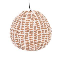 Lampskärm i tyg String Bean Drop XS från Afroart