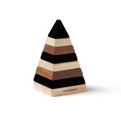 Plocktorn Pyramid Neo i trä från Kids Concept