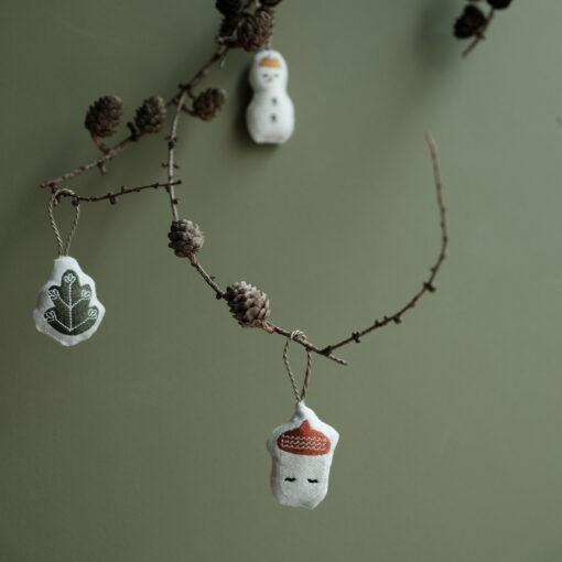 Julhängen i ekologisk bomull från Fabelab