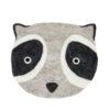 Sittdyna Grävling Badger till barn från Afroart i tovad ull