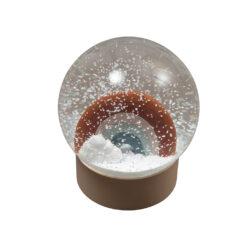 Snökula eller snöglob med regnbåge från Fabelab