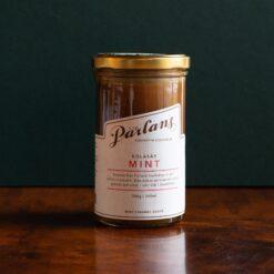 Kolasås med smak av mint från Pärlans Konfektyr