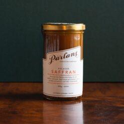 Kolasås med smak av saffran från Pärlans Konfektyr
