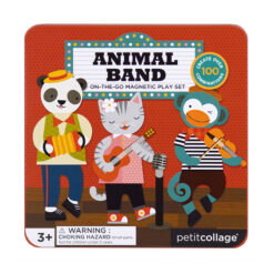 Magnetiskt lekset Mix & Match Animal Band från Petit Collage