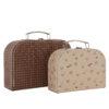 Pappväska eller resväska till de små med regnbåge från OYOY