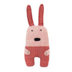 Gosedjur Soft Rabbit rosa kanin från Afroart