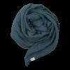 Muslinfilt, swaddle eller babyfilt i ekologisk bomull från Fabelab Blue spruce Blå