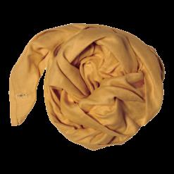 Muslinfilt, swaddle eller babyfilt i ekologisk bomull från Fabelab Ochre senapsgul