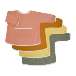 Målarförkläde i ekologisk bomull från Fabelab