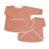 Målarförkläde i ekologisk bomull från Fabelab Chambray Old Rose aprikos