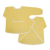 Målarförkläde i ekologisk bomull från Fabelab Chambray Pale Yellow ljusgul