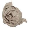 Muslinfilt, swaddle eller babyfilt i ekologisk bomull från Fabelab Beige varmgrå