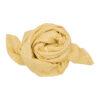 Muslinfilt, swaddle eller babyfilt i ekologisk bomull från Fabelab Pale yellow ljusgul