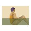 Poster med badande kvinnor och damer