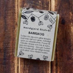 Ekologisk handgjord tvål Barrskog från Malin i Ratan