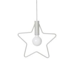 Lampa pendel stjärna till barnrum Star pendant från Ferm Living