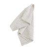 Randig handduk Thinstripe i ekologisk bomull från Afroart
