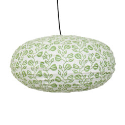 Lampskärm i tyg Tulip Oval från Afroart
